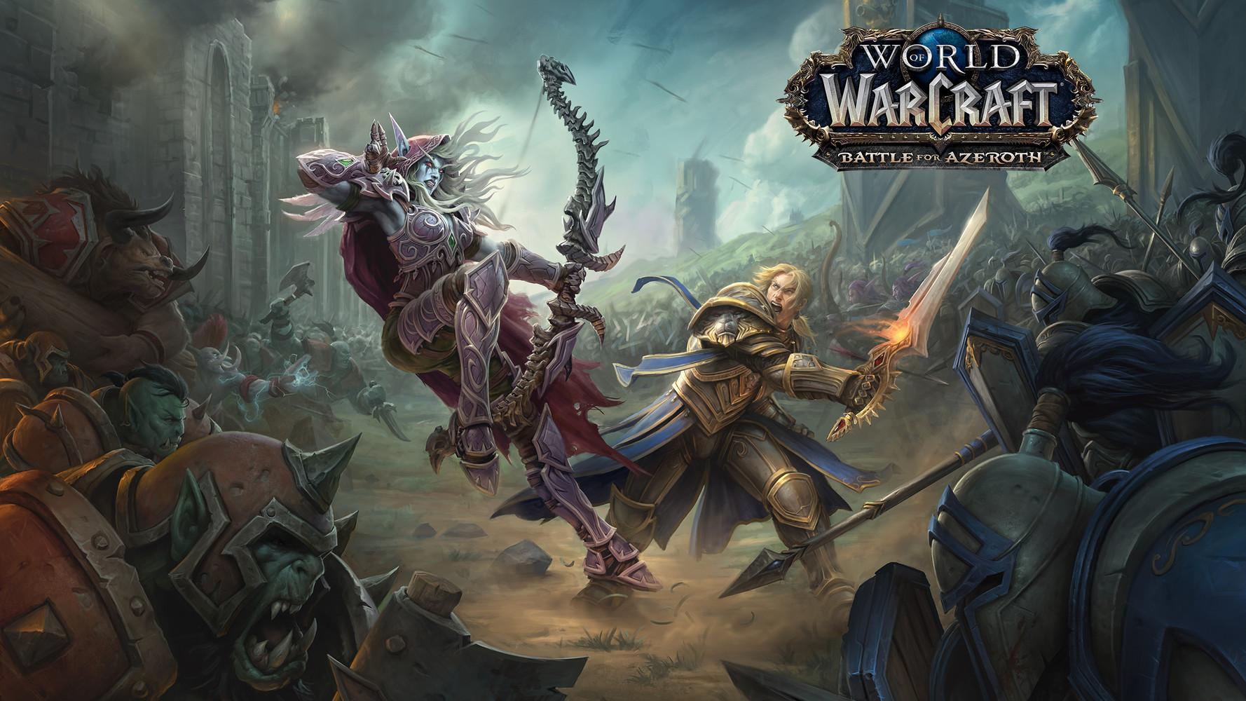 Nvidia GeForce kaart voor de nieuwste WoW expansion